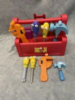 HANDY MANNY ~ Dancing TALKING Singing TOOL BOX & TOOLS Toy - Complete & Working