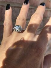 3 carat Moissanite ring size 6.25