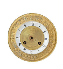 mécanisme de Cartel pendule Portique Mécanique Empire Bronze Doré Ciselé