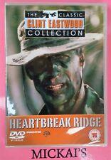 HEARTBREAK RIDGE CLASSIC CLINT EASTWOOD COLLECTION CCECN06 DeAGOSTINI DVD PAL