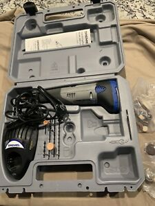 Dremel Model 800 10.8 Volt Cordless Rotary Tool Kit & Charger In Case Excellent