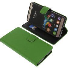 Custodia per Oukitel K6000 Pro book-style protettiva cellulare a libro verde
