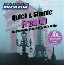 NEW! Pimsleur Language Program: Quick & Simple French by Pimsleur Staff (4 CDs)