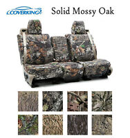 Coverking Custom Seat Covers Neosupreme Front Row - Solid Mossy Oak Camo
