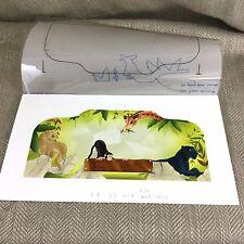 Rare Original Book Artwork Illustration Watercolor Painting Jungle Book Kipling