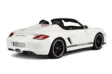 1:18 GT Spirit Porsche Boxster 987 Spyder white NEW SHIPPING FREE