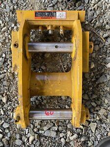 John Deere Hitachi 60D 60G Excavator Manual Wedge Quick Coupler