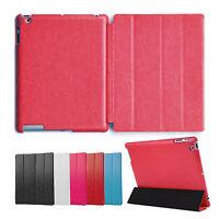 Deluxe Hülle iPad 2 3 4 Cover Case Schutz Tasche Etui Aufstellbar Ständer Rot
