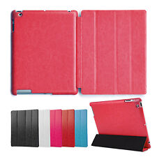 Deluxe Cover Ipad 2 3 4 Cover Case Case Pouch Stand up Stand Red