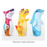 """38"""" 3D Inflatable Dinosaur Toys Bop Bag/Punching Bag Interactive Toys for Kids"""