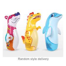 "38"" 3D Inflatable Dinosaur Toys Bop Bag/Punching Bag Interactive Kid Toy Random"