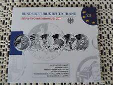 Silber Gedenkmünzenset 2011