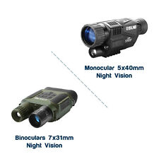 Night Vision Goggles IR/Infrared Technology Fantastic Condition Adjustable Scope