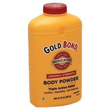 Gold Bond Original Strength Medicated Body Powder Triple Action Relief 10.0 oz.