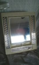 vintage lighted makeup mirror