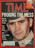 Time Magazine December 1986 Oliver North - CIA Role - Christmas Toys - Very Fine