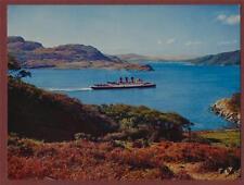 The Kyles of Bute. 'Thistledown Series'  large postcard  u.113
