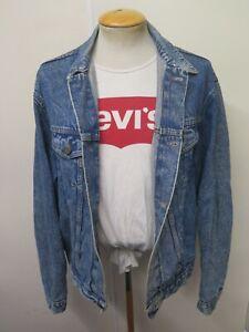 "VINTAGE Retro Grunge Levi's Red Tab Denim Jacket Size XL 46"" Euro 56"
