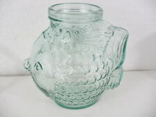 "Italian Large Fish Bowl SVE 7-1/2"" long, 5-3/4"" wide, & 8"" tall"
