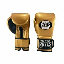 *FREE* Cleto Reyes Wrap Around Boxing Gloves Gold Training Boxing Sparring