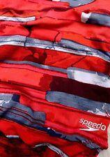 SPEEDO TRAIN III Womens One Piece BathingSuit Swim Suit 26 RED  NWT NEW