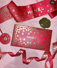 CHANEL Red Packets GIFT CARD w/ Envelope 2020