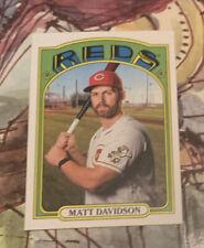 2021 Topps Heritage Matt Davidson #420 High Number Short Print SP
