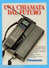 QUATTROR990-PUBBLICITA'/ADVERTISING-1990- PANASONIC TELEFONO 900 MHz MODELLO E