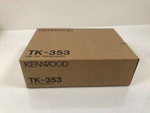 NOS KENWOOD TK-353 (N) UHF MOT RADIO 450-470MHz 160CH 5W POLICE-FIRE-GMRS