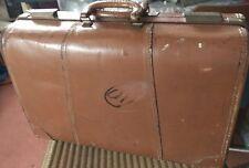 Vintage rare valise Pak M Rite CASE recouvert d'aniline Top Grain Cowhide