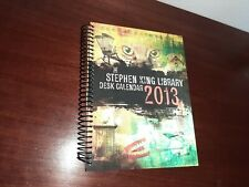 The Stephen King Library Desk Calendar 2013 (Spiral-bound)