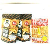 Irvins Salted Egg Fish Skin 105 g x 2 Singapore Free Bento 5g x 3p FREE SHIPPING