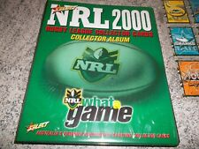 2000 SELECT RUGBY LEAGUE INSERTS AND SIGNATURES SET AND FOLDER