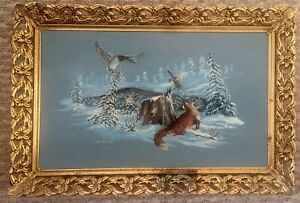 """Beautiful Vintage/Antique Original Oil Painting Signed And Framed 10x15"""""""