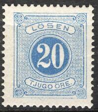 Sweden 1877-86, Postage Due Sc J17, Facit L16, OG MH