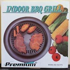 PREMIUM INDOOR BBQ GRILL Smokeless Barbeque Electric Gas Stove Non-Stick Teflon