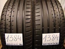 2 x Sommerreifen Continental Sport Contact-2   225/50 R17, 94W, 6,5mm.