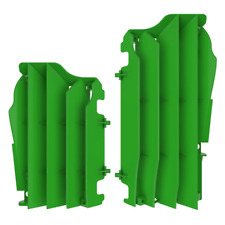New Green Radiator Guards Covers Grills Kawasaki KX250F KX 250F 2017 2018