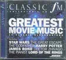 GREATEST MOVIE MUSIC: CLASSIC FM CD: STAR WARS, SCHINDLER'S LIST, HARRY POTTER