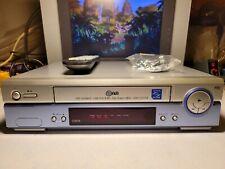 VIDEOREGISTRATORE VHS LG LV2275 EX VETRINA  NEGOZIO MAI USATO CON TELECOMANDO