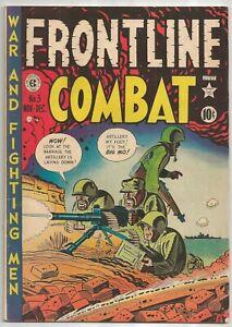 EC TINY TOT FRONTLINE COMBAT COMIC #3 w ROMMEL 1951 EX-MT INTACT RARE