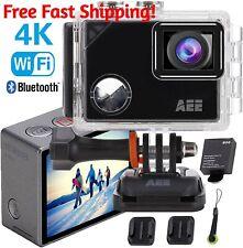 4K WiFi Pro Sports Action CAMERA, Ultra HD Waterproof 16MP with 4X Digital Zoom