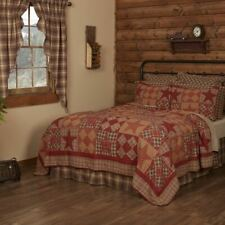 COUNTRY PRIMITIVE RUSTIC DAWSON STAR PATCHWORK QUILT COLLECTION VHC BRANDS