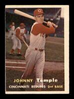 1957 Topps Set Break # 9 Johnny Temple VG-EX *OBGcards*