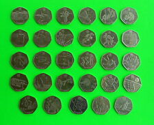 29 x 50p coins sport 2012 London Olympics - FULL SET.