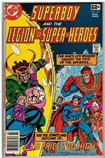 SUPERBOY AND THE LEGION OF SUPER-HEROES #237 1978 DC BRONZE AGE GIANT FN/VFN!