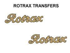Rotrax Tank Decal Transfer Motorcycle Black Good D3099
