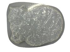 Decorative Cat Plaque Stepping Stone Cement or Concrete Mold 1050 Moldcreations