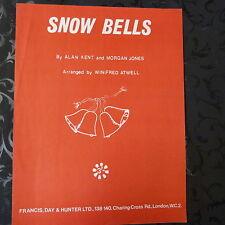 piano solo SNOW BELLS, A Kent, M Morgan, arr. W. Atwell