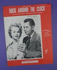 Rock around the clock-ORIGINALE SPARTITO da Lavagna Giungla 1953